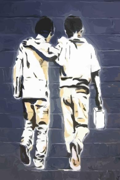 graffiti-school-boys-best-friends